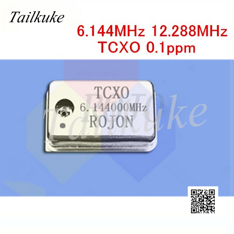 Temperature-compensation Crystal Oscillator 2.4576MHz 6.144MHz <font><b>12.288MHz</b></font> 24.576MHz 49.152MHz 98.304MHz 0.1ppm TCXO image