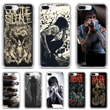 Untuk Xiaomi Mi5 Mi5S Mi6 Mi3 Mi4 Mi4i Mi4C Redmi Catatan 2 3 3S 5 5A 6 6A Pro mitch Lucker Suicide Silence Poster Silicone Case(China)