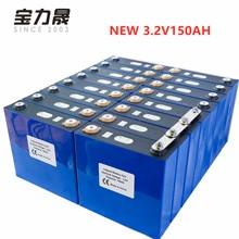학년 새로운 16PCS 3.2V 120AH 176Ah 리튬 철 인산염 셀 lifepo4 배터리 태양 24V300AH 셀 200Ah EU 미국 세금 무료