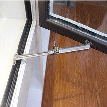 Регулируемая ветровая Скоба из нержавеющей стали, оконная створка, ограничитель окна, оконная стойка