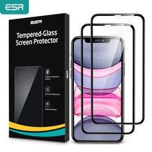 ESR Kính Cường Lực Cho iPhone 11 Pro Max Tấm Bảo Vệ Màn Hình Trong Suốt Cao Cấp Có Kính Cường Lực Dành Cho iPhone X XR XS Max kính Cường Lực