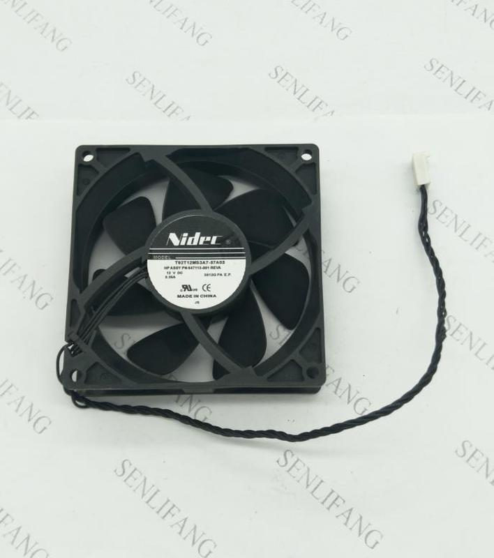 Free Shipping Original For T92C12MS1A7-57A02 9232 90mm 9cm DC 12v 0.35a T92t12ms3a7-57a03 V67MK-A00 2Y16G Case Cooling Fan