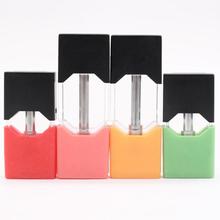 1 sztuk Atomizer strąki dla JUUL Vape mod do elektronicznego papierosa zestaw 0 5 ml 1 0 ml strąki uniwersalny parownik tanie tanio Wymienne JUUL pod Z tworzywa sztucznego FOR JUUL