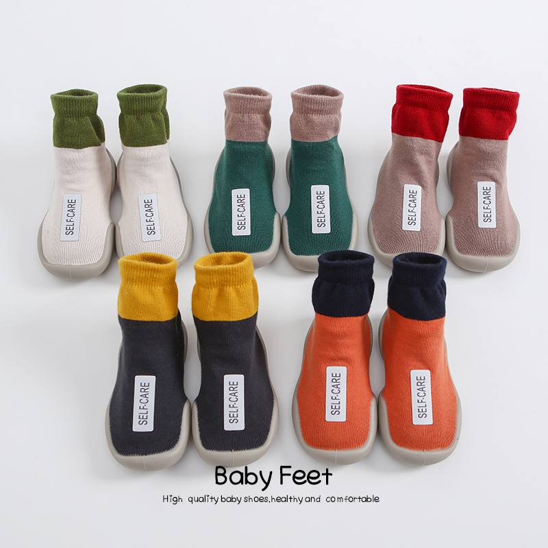 baby sock shoes baby girl baby boy floor anti-slip shoes(China)