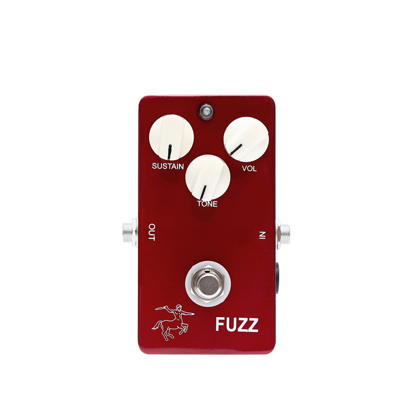 1590B Aluminum Enclosure Handmade DIY Fuzz Pedal Guitar Distoration Pedals With Ture Bypass For Guitarra Accessories image