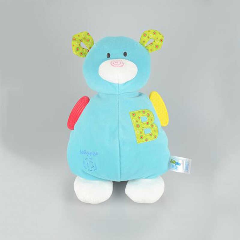 เด็กน่ารัก Rattle ของเล่นการ์ตูนสัตว์ Bells Rattles Toy Playmate ตุ๊กตาตุ๊กตาของเล่น Teether ของเล่นสำหรับเด็กทารก