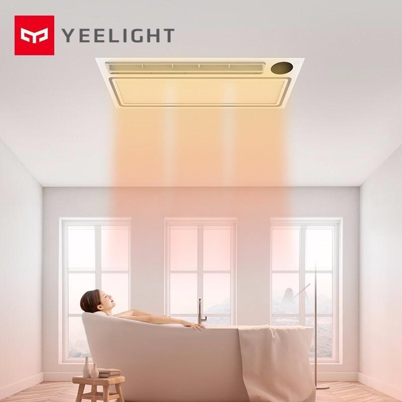 Yeelight Smart Bath Heater Turbo Version Bluetooth Mobile APP Remote Control 8 In 1 Bath Heater 3 Gear Speed Rapid Heating Bath