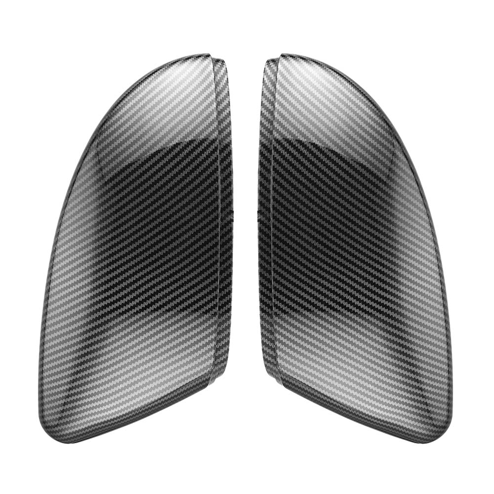 2PCS For <font><b>VW</b></font> Passat B7 Jetta MK6 Scirocco <font><b>MK3</b></font> new CC Side Wing Mirror Cover Caps (Carbon Effect) for Volkswagen Mirror Cover Caps image