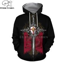 PLstar Cosmos All Over Printed Knights Templar 3d hoodies/Sweatshirt Winter autumn funny Harajuku Long sleeve streetwear-34