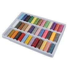 Горячая 39 цветов/набор 402 тонкая швейная нить для ручного шитья промышленные станки NDS