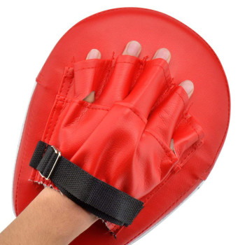 2pcs Focus Boxing Punch Mitts Training Pad for MMA Karate Muay Thai Kick Palm Pad Hook Jab Strike Pads Target Mitt Glove 5