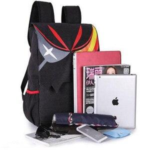 Image 5 - Аниме Kill La kill Matoi Ryuko экшн напечатанный рисунок школьные сумки на плечо сумка рюкзак Косплэй Карманный Кошелек с мешком фигурка игрушки Новый