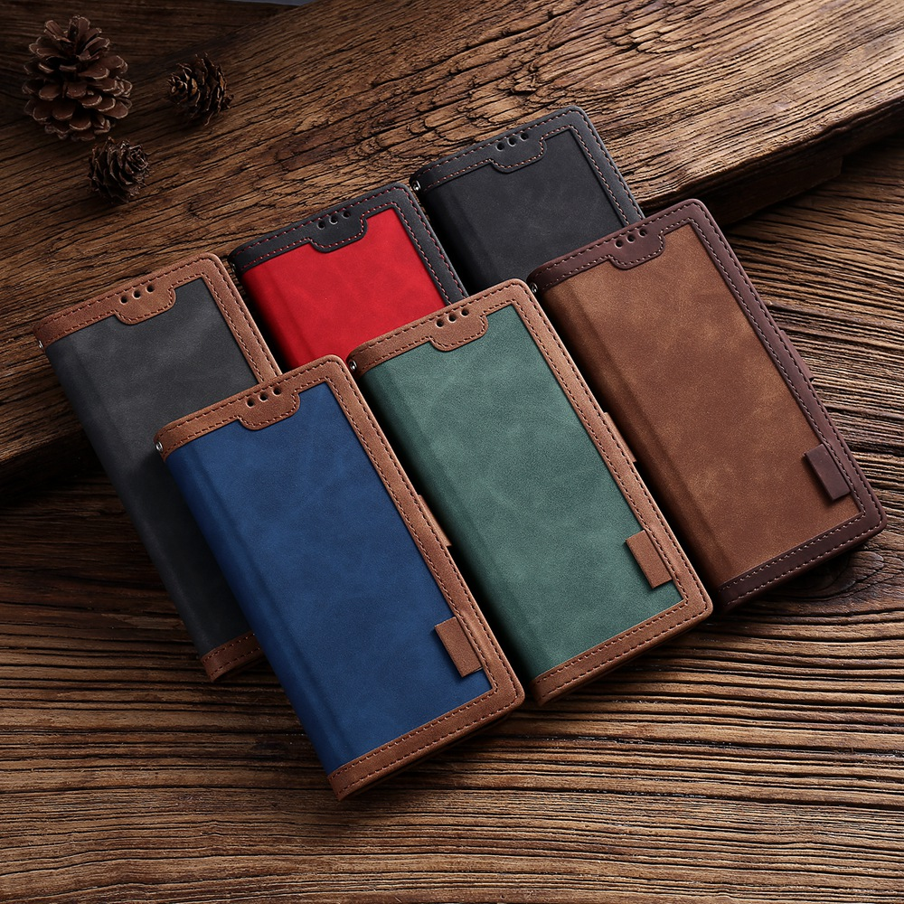 FLOVEME Retro <font><b>Flip</b></font> <font><b>Wallet</b></font> Leather <font><b>Case</b></font> For Redmi Note 8 Pro 7 8T <font><b>Case</b></font> For <font><b>Xiaomi</b></font> <font><b>Mi</b></font> 10 Pro Redmi K30 K20 Pro CC9 CC9E <font><b>9</b></font> Lite Bag image