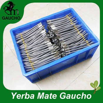 50PCS/Lot 17CM Curved Reusable Delicate Yerba Mate Straw With Removable Hexagonal Filter Straw Drink Smooth Hot Sale MB001-170