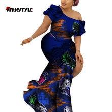 2020 summer dress patchwork slit asymmetry skirt bazin riche