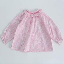 Girls Tops Shirt Flower Kids Children Cotton Autumn Brand 0-4yrs New-Arrivals