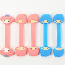 1 Pcs Cute My Melody Little Twin Star Headphone Earphone Wrap Cable Winder Cable Wire Organizer for Girls Figure Toy Gifts(China)