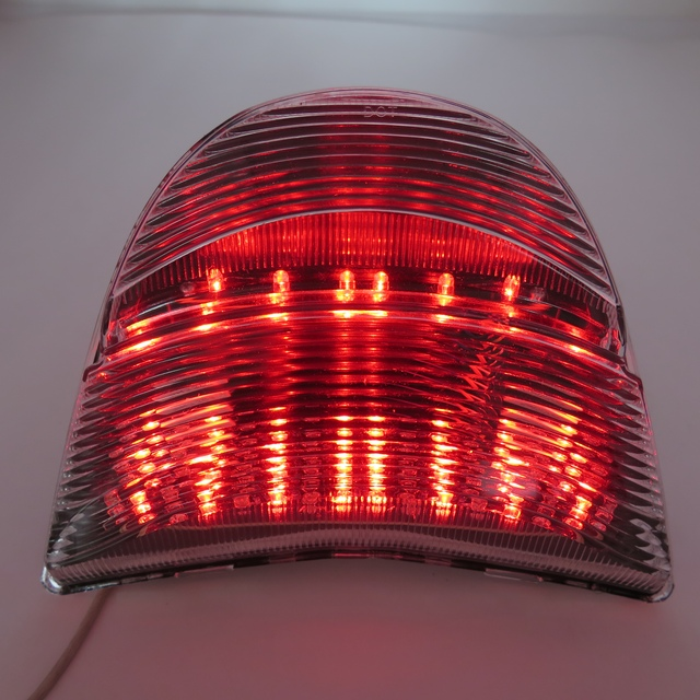 Aftermarket free shipping motorcycle parts LED Tail Light for 2002-2003 Honda CBR 954 CBR900RR Fireblade CBR954RR Clear