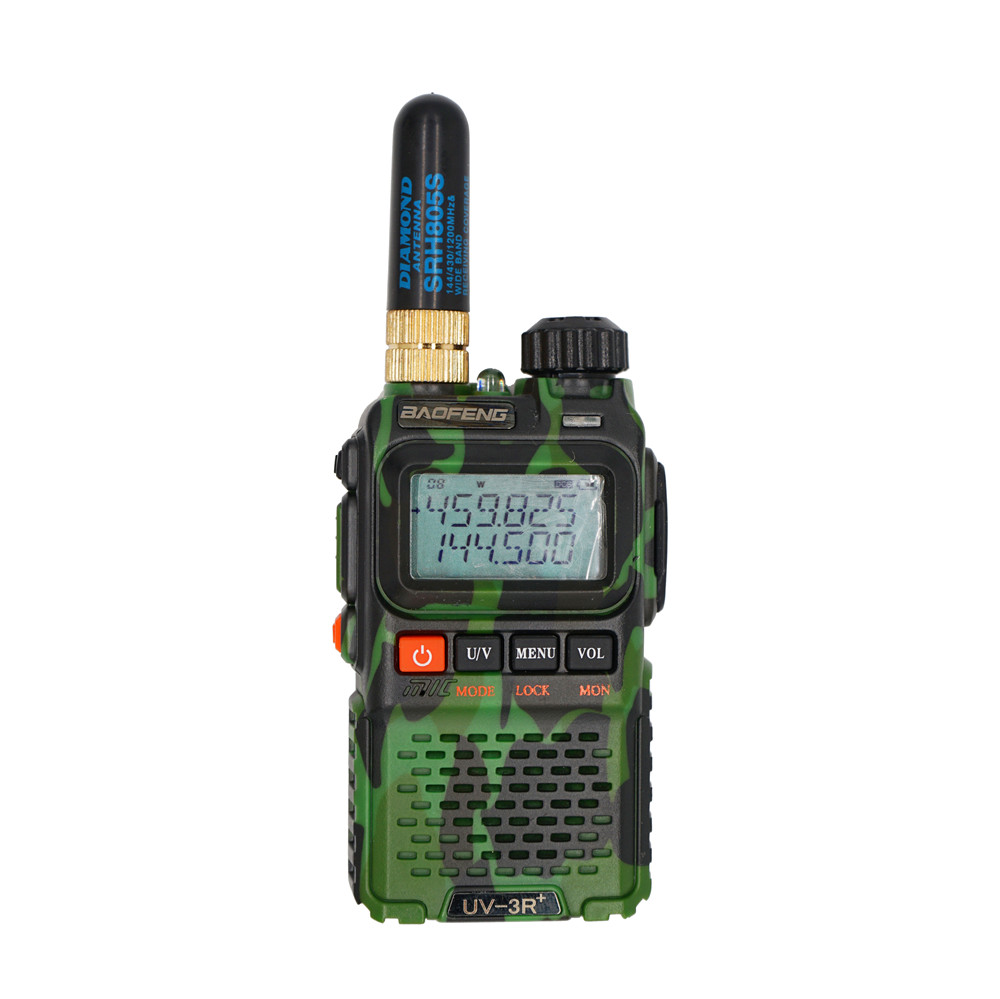1pc Short Antenna RT-805S SMA-F VHF UHF Antena Accessories For Kenwood For Baofeng GT-3 UV-5R BF-888s UV-82 Walkie-Talkie Radios