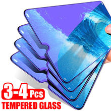 3-4Pcs Screen Protector Tempered Glass For Xiaomi Redmi Note 7 5 6 Pro Full Cover Protective Glass For Redmi 7A 5 Plus Redmi K20(China)