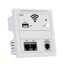 300Mbps 86 Panel In Wall Wireless AP Router WiFi Access Point In-Wall Wifi Repeater