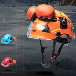 Cave exploration Helm Restspannungen Industrielle Bergsteigen Klettern Outdoor Ausrüstung Bergsteigen Klettern Helm