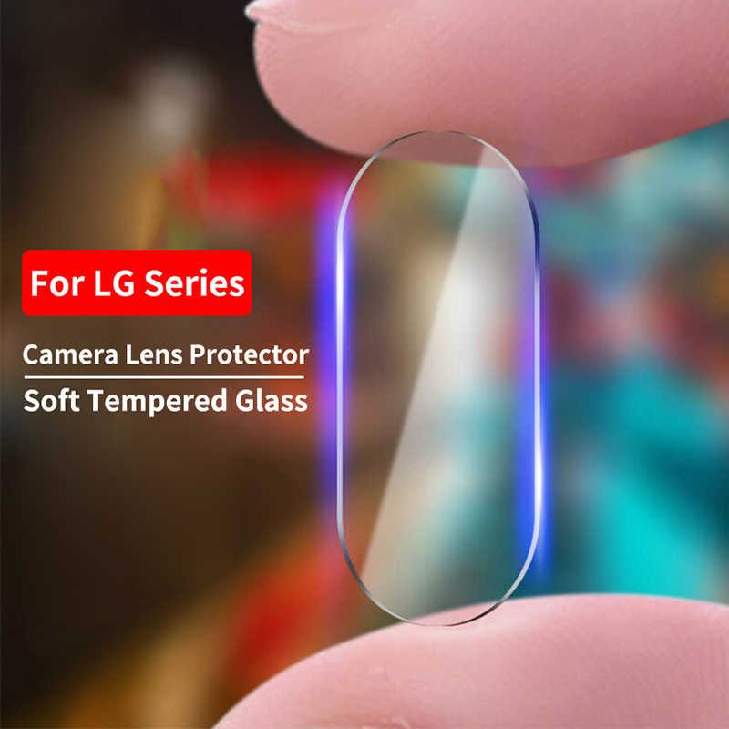 Belakang Kamera Lensa Pelindung Kaca untuk LG G5 G6 G7 G8 Ultra Slim Lensa Kamera Pelindung Layar untuk LG Q60 v10 V20 Anti Gores