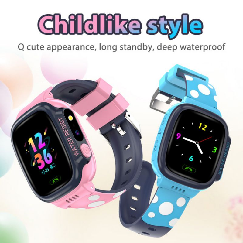 Y92 Kid Smart Watch Wifi + LBS + GPS SIM Kids Smart Watch Children Waterproof SOS 2G Smartwatch Camera Baby Kids Phone Watches