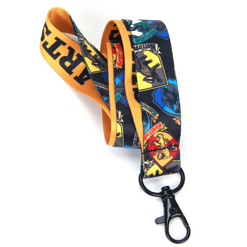 Manufacturers Currently Available Wholesale Harry Potter Thermal Transfer Game Lanyard Mobile Phone Lanyard Work Lanyard Customi