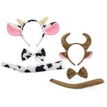 3 шт/компл имитация окраски коровы повязка на голову комплект