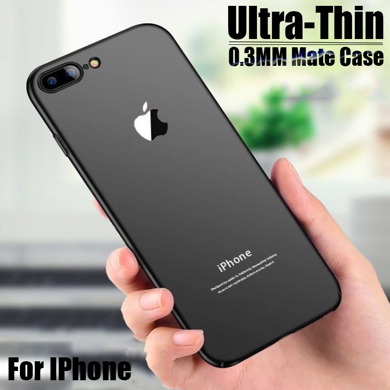Luxury <font><b>Shockproof</b></font> 0.22MM Ultra Thin <font><b>Case</b></font> On The For <font><b>IPhone</b></font> 7 6 6s 8 Plus Soft <font><b>Case</b></font> For <font><b>IPhone</b></font> <font><b>X</b></font> <font><b>XS</b></font> Max XR Silicone Phone <font><b>Case</b></font> image