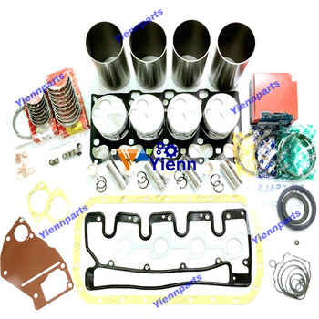 4LE1 Engine Overhaul Rebuild Kit Fit For Rotary Snowplow HTR50 Small Backhoe AX58Mu Diesel Engine Parts