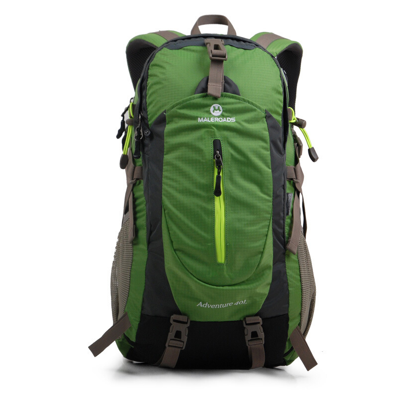 <font><b>Maleroads</b></font> Outdoor Mountaineering Bag Backpack Walking Outdoor Backpack Travel Bag Outdoor Backpack <font><b>40L</b></font> Lightweight Version image
