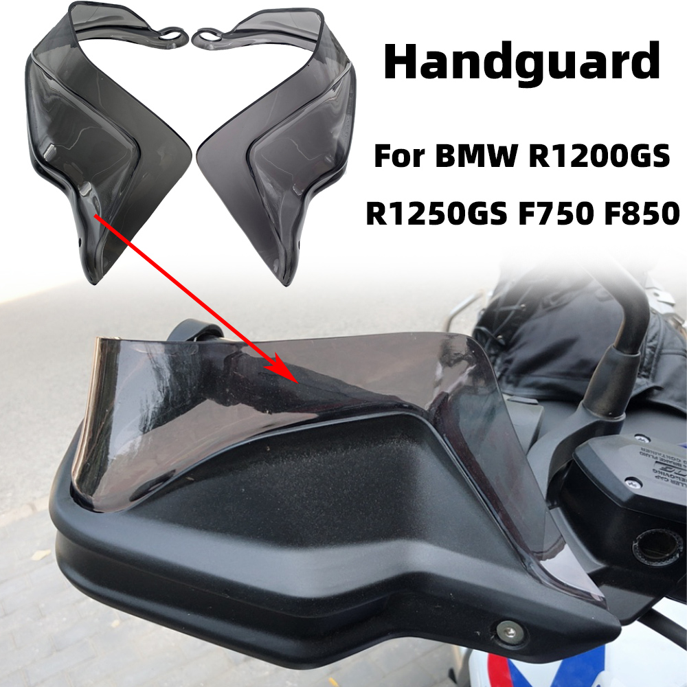 REALZION Motorcycle Handguard Hand Shield Guard Protector Windshield For BMW R1200GS LC ADV R1250GS S1000XR F750GS F850GS ADV