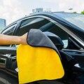 30x3 0/60 см Авто Микрофибра Мыть Полотенца чистки автомобиля сушка ткань с каймой, для ухода за автомобилем ткань с подробным описанием Автомо...