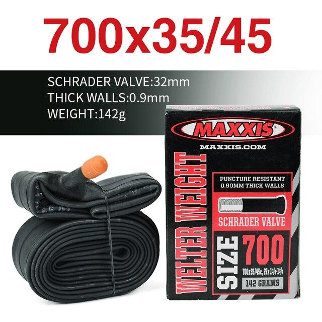 Ultralight MAXXIS dętka rowerowa wszystkie rozmiar 20 26 27.5 29 700C AV FV stab cios dowód MTB szosowe dętki kamery opony