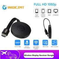 1080P Wireless WiFi Display Dongle TV Stick adattatore Video Airplay DLNA Mirroring dello schermo condividi per IOS Phone Android Phone to TV