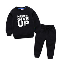Childrens Mohamed Salah Never Give Up Print Cotton Hoodies Sweatshirts Girl Kids Pullover Tops Baby Boys Autumn Clothes