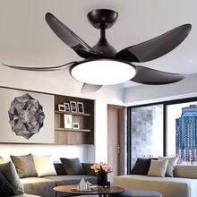 52 дюймов nordic декоративный потолочный вентилятор постоянного