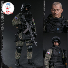 DAMTOYS DAM 78058 1/6 Scale RUSSIAN SPETSNAZ MVD SOBR LYNX Male Soldier Action Figures for Collection