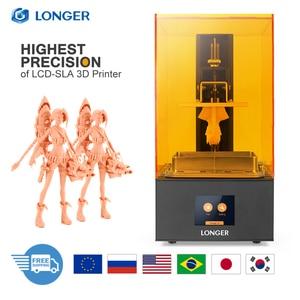 Image 1 - 長いオレンジ 30 sla液晶 3Dプリンタ 2 18kマトリックスuv 405nm樹脂高速スライスプリンタジュエリー歯科専門impresora 3d drucker