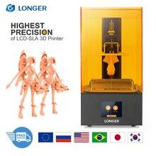 LÄNGERE Orange 30 SLA LCD 3D Drucker 2K Matrix UV 405nm Harz Schnelle Scheibe Drucker Schmuck Dental Professional impresora 3d Drucker
