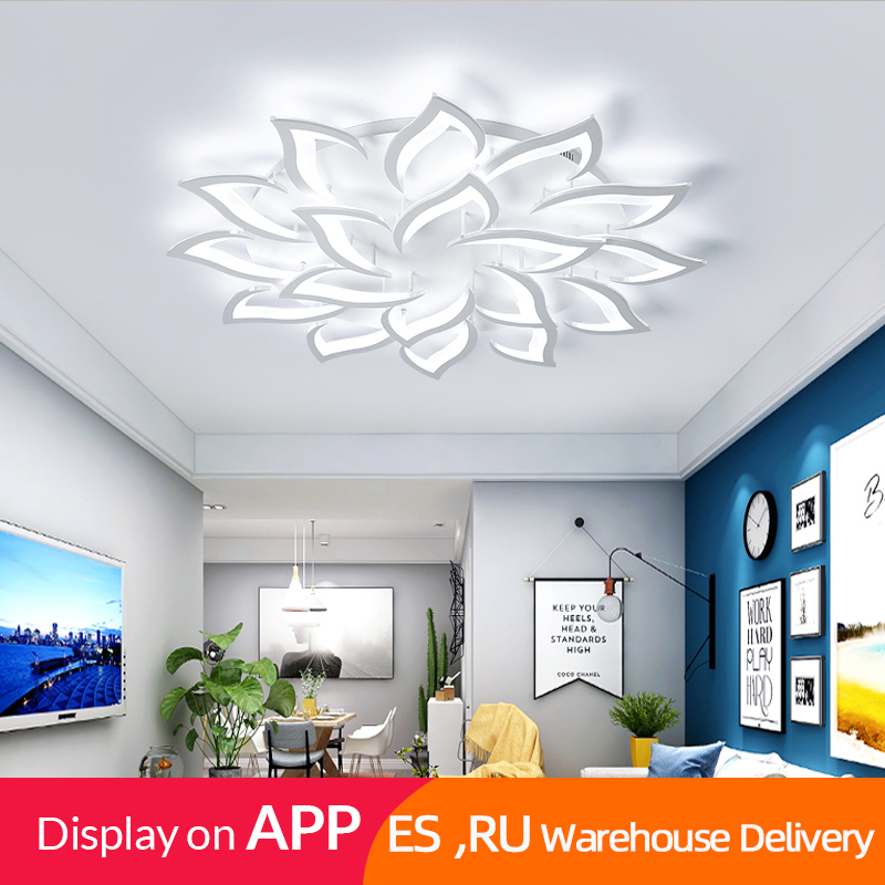 IRALAN chandelier lights for living room lustre light bedroom dining room home APP control ceiling lamp Innrech Market.com