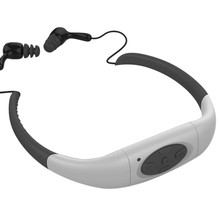 Promotion--8Gb Waterproof Swimming Surf Diving Sports Headset Mp3 Player Fm Radio(China)