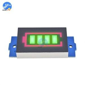 BMS 1S 2S 3S 4S 6S 7S 18650 индикатор емкости литиевой батареи зеленый светодиодный дисплей с подсветкой внешний аккумулятор аксессуары для зарядки