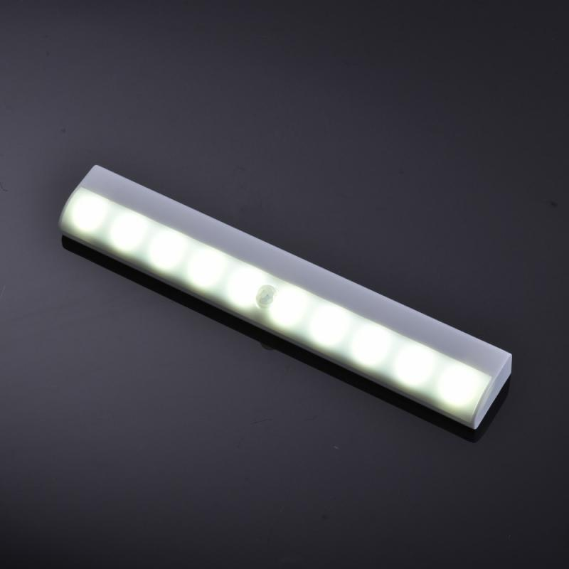 LED Wireless PIR Motion Sensor Cabinet Light For Home Automatic optical induction Cupboard Closet Kitchen Stairs