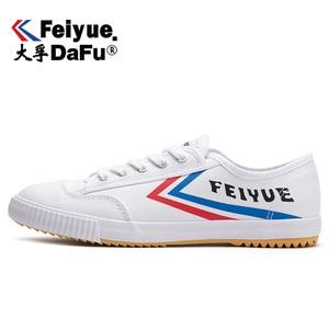 Image 1 - DafuFeiyue 331 שאולין קונג פו בד נעלי מקורי גברים נשים נעלי גופר נעלי ספורט מזדמנים לנשימה מגמת החלקה נעליים