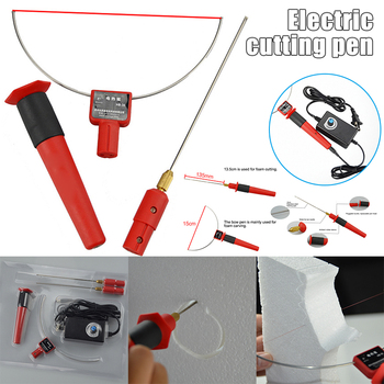 High Hot Wire Foam Cutting Tools Electric Styrofoam Cutter Pen Cutter Portable Polystyrene Foam Cutter 24W LG66