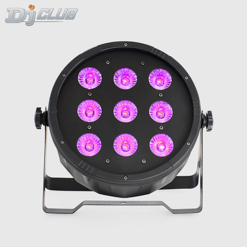 Led Par Rgbw 9x12W Wash Dmx Wash Light Led Flat Par Led Dj Equipment Disco Dj Lights