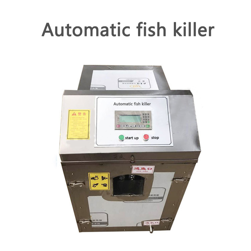 XZ-028 Commercial Fish Killing Machine Automatic Fish Killer Machine For Remove Scales,visceral And Open Belly One Machine 220v